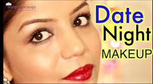 romantic date night makeup tutorial indian skin