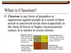 classism essay  classism essay classism essay