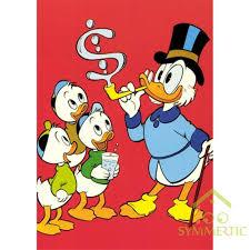 Bộ Tranh Đính Trang Trí Hình Chú Vịt Donald 5d Diy