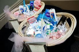 bathroom baskets for wedding reception. pictures of bathroom baskets filled with items for wedding reception