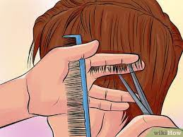 how to point cut hair 8 steps with