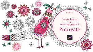 Free jolly penguin coloring page printable. Ipad Art Create Line Art And Coloring Pages In Procreate Nic Squirrell Skillshare