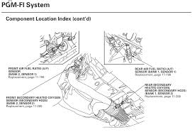 p0134 bank 1 sensor 1 location honda ridgeline owners club forums see if this helps