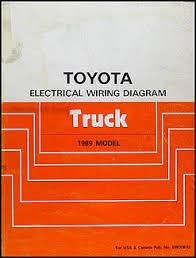 1989 toyota pickup truck wiring diagram manual original 1985 toyota pickup alternator wiring diagram 1985 Toyota Pickup Wiring Diagram #22