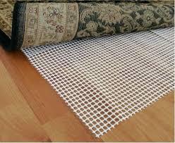 rug pads for hardwood floors rugs safe best non slip pad