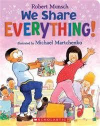 we share everything books for kidschildren bookskid booksauthor