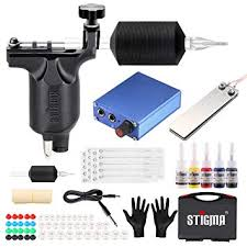 Stigma Complete Tattoo Kit Pro Tattoo Machine Kit ... - Amazon.com