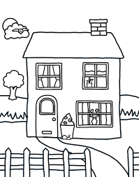 Small Picture Cool House Coloring Pages House Coloring Pages Image 16 Ppinewsco