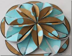 Folding Paper Flower Paper Folded Flowers Therapy Fun Zone
