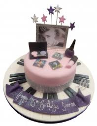 Sugar is essential in cakes as it's what makes them taste sweet. Music Makeup Cake