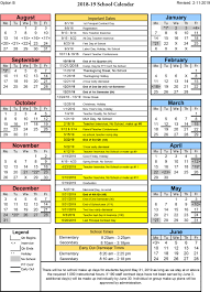 How To Make A School Calendar District Info