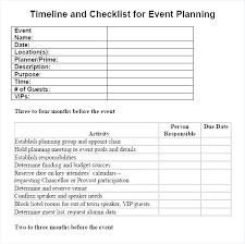 Special Event Checklist Template