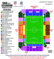 Orlando City Stadium Map Orlando City Stadium Seating View