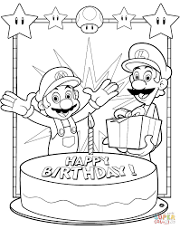 Small Picture Super Mario Bros coloring pages Free Coloring Pages