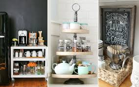 coffee bar. My Coffee Consumption Has Skyrocketed Since Having Kids. I Like To Think Of It As The Modern Bar Cabinet. Who Needs Booze When You Can Have Caffeine?