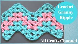Wave Crochet Pattern Free Magnificent Decorating Design
