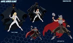 Marvel Avengers Alliance - Characters on Behance