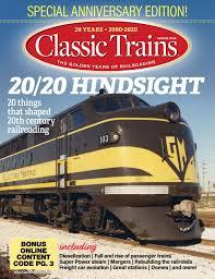 <b>Classic</b> Trains - Spring 2020 by Harpoon - issuu