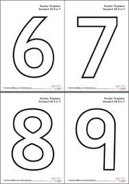 number templates 1 10 free printable number templates printable 360 degree