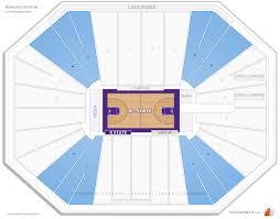 K State Basketball Seating Chart Bramlage Coliseum Kansas St Seating Guide Rateyourseats Com