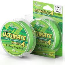 <b>Леска Ultimate</b> 0 12mm 135m 6 6kg Light Green U135LGR012 ...