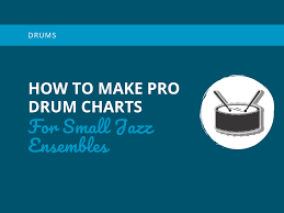 How To Make Pro Drum Charts For Small Jazz Ensembles Learn