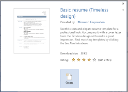 how to create resume in microsoft word how to create a professional resume for free with word 2013