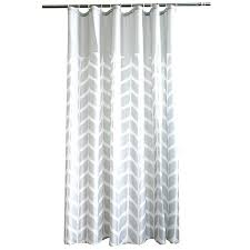 black white shower curtains fabric curtain liner mold on