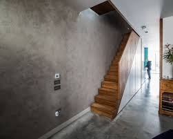 polished concrete plaster effect