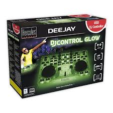 Hercules Djcontrol Glow Controller With Led Light And Glow Effects Hercules Dj Control Glow Controller With Led Just At