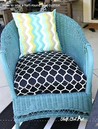 U Shaped Outdoor Cushions How To Sew A Half Round Seat Cushion