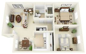 incore residential two bedroom floor plan