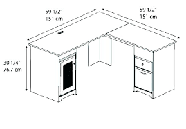 Standard Desk Depth Office Sizes Dard Height Of For Computer