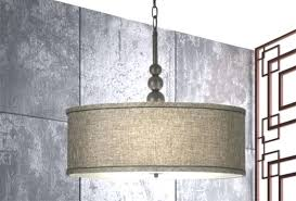 drum shade pendant light with chain bearpath acres beautiful drum shade pendant light with chain drum