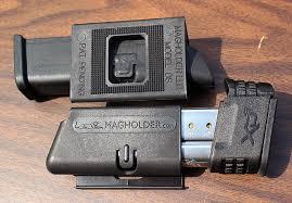 Glock Magazine Holder Gear Review MagHolder Horizontal Magazine Holder VIDEO 100