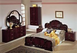 Italian Bedroom Set plete set serena mahogany traditional italian bed 5604 by guidejewelry.us