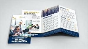 Fold Brochure Templates Docs Pages Free Tri Template Mac Word