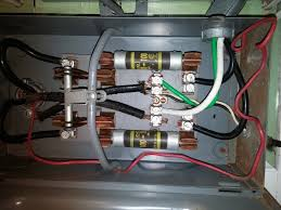question about grounding my old main fuse panel electrical diy how to replace a breaker switch at Main Fuse Fuse Box