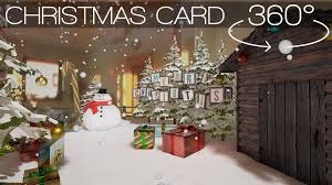 Christmas Card Picture Vr 360 Christmas Card By Ivr Nation Youtube