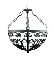mexican iron chandeliers four light pendant with option for mica mexican wrought iron chandeliers