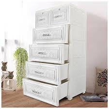 YUTING Portable Drawer Closet Wardrobe Plastic Childrenu0027s Wardrobe  Organizer Storage Dresser Cupboard Corridor Easy To Assemble Dresser35