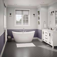 item 6 maax delsia 66 x 36 x 27 fibergl freestanding bathtub in white 106193 maax delsia 66 x 36 x 27 fibergl freestanding bathtub in white