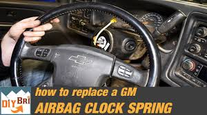 2004 Chevy Avalanche Service Airbag Light Is On How To Replace A Clock Spring Remove Steering Wheel Silverado