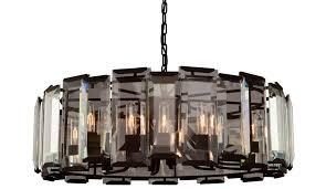artcraft ac10262 palisades modern matte black hanging chandelier loading zoom