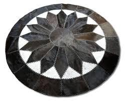 round cowhide rug round cowhide rug a cm faux cowhide rug