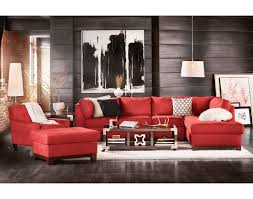 Tufted Living Room Set Rialto Onyx Leather Sectional Living Room Set Tufted Seat Backs