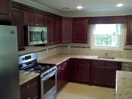 quality value and style with medium brown cabinets
