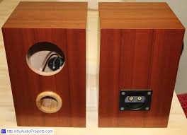 fostex fe103en bass reflex speaker box