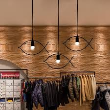 creative designs in lighting. Simple Fish Frame Pendant Lamp Chandelier Light Fashion Style For Cafe Bar Dining Room Couture-in Lights From \u0026 Lighting On Aliexpress.com Creative Designs In I