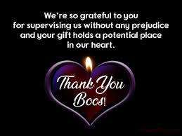 Thank You Message To Boss 60 Thank You Messages For Boss Appreciation Quotes Wishesmsg